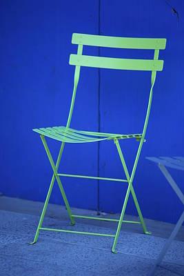Chairs Photograph - Misc 0036 by Carol Ann Thomas