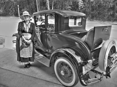 Miss Cecilia And The Ford Original by William Fields