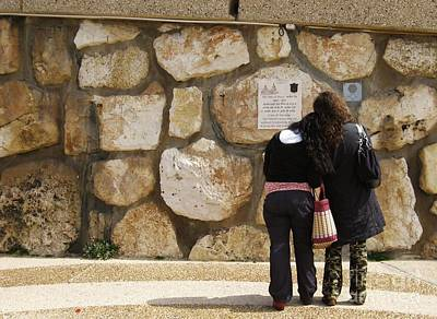 Israel Photograph - Missing Your Voice Of Peace by Stav Stavit Zagron