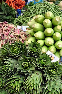 Mixed Vegetables. Print by Fernando Barozza