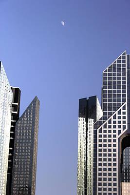 Modern Architecture  Print by Radoslav Nedelchev