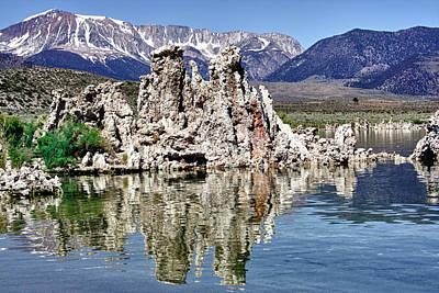 Crowley Lake Photograph - Mono Lake Yosemite by Linda Dunn
