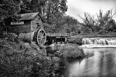 Historic Site Photograph - Mono Mill by CJ Schmit