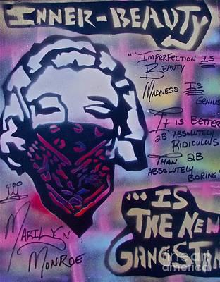 Moral Painting - Monroe Gangstah by Tony B Conscious