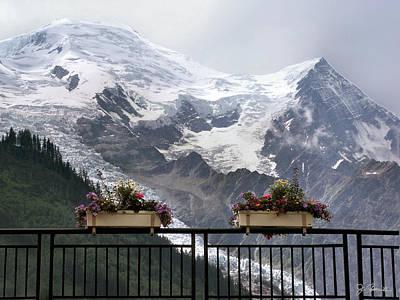 Mont Blanc Print by Joe Bonita