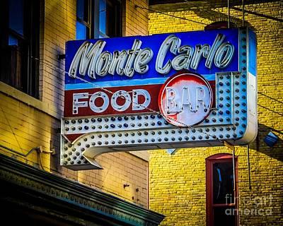 Monte Carlo Neon Original by Perry Webster