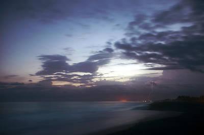 Water Photograph - Monterrico Sunset by Francesco Nadalini
