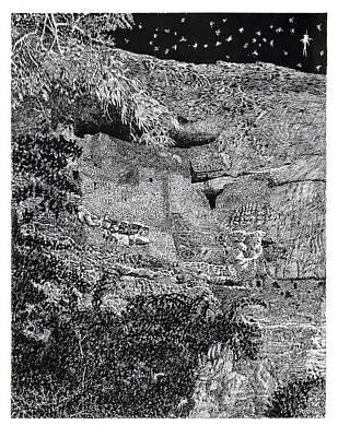 Montezuma Castle  Print by Jack Pumphrey