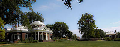 Monticello Grounds Print by DigiArt Diaries by Vicky B Fuller