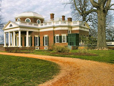 Monticello I Print by Steven Ainsworth