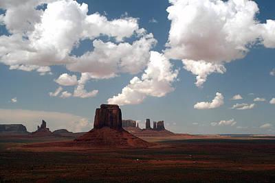 Elizabeth Rose Photograph - Monument Valley by Elizabeth Rose