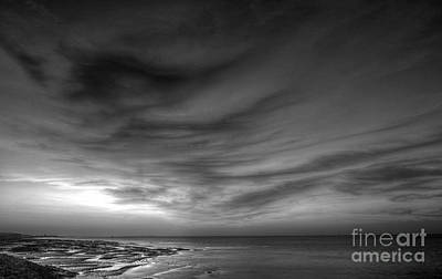 Reculver Photograph - Moody Sunset by Lee-Anne Rafferty-Evans