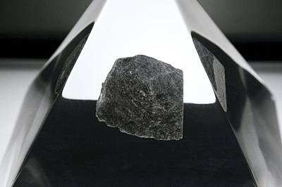 Moon Rock Sample Print by Detlev Van Ravenswaay