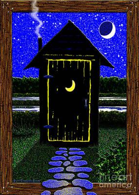 Stroll Digital Art - Moonlight Stroll by Cristophers Dream Artistry