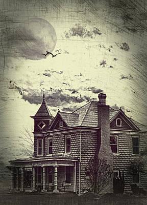 Moonlit Night Print by Kathy Jennings