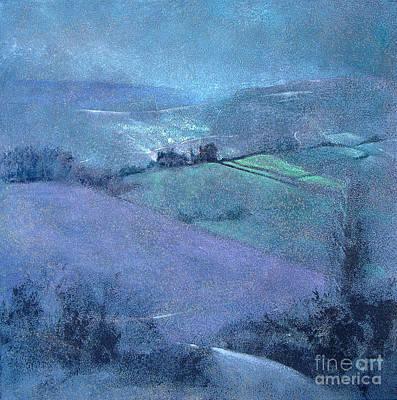 Moorland Highlights Print by Neil McBride