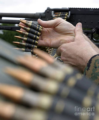 More Than 3,000 Rounds Were Fired Print by Stocktrek Images