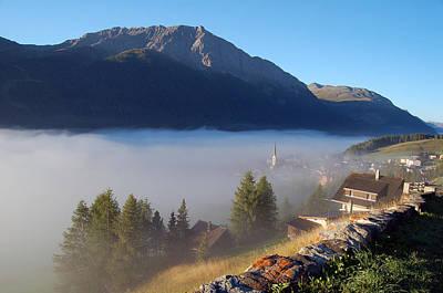 Morning Fog Print by @ Upsa-daisy