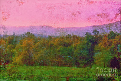 Morning In The Mountains Print by Judi Bagwell