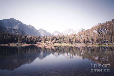 Morning Light At Heart Lake Print by Alexander Kunz