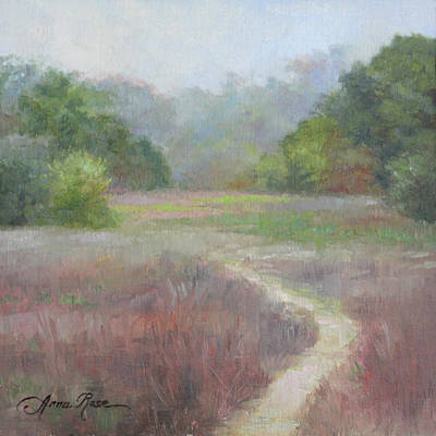 Clearing Painting - Morning Mist by Anna Rose Bain