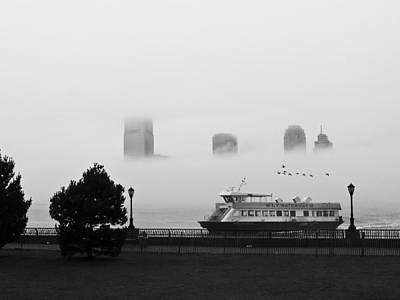 Morning Mist Print by Brad Morgan