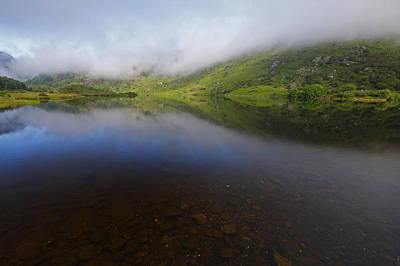 Gougane Barra Photograph - Morning Mist Over Gougane Barra Lake by Trish Punch
