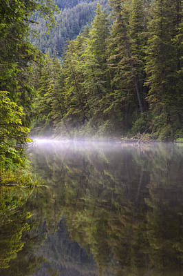 Prints Of Alaska Photograph - Morning Mist by Tim Grams
