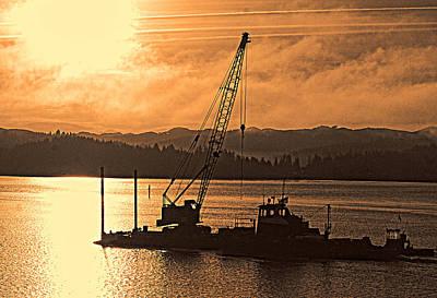 Morning On The Bay Print by Dale Stillman