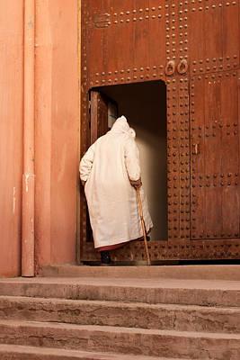 Moroccan Man Print by Tom Gowanlock