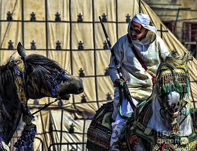 Morocco Festival II Print by Chuck Kuhn
