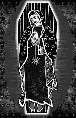 Morticia Guadalupe' Print by Travis Burns