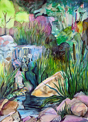 Moses In The Bull Rushes Print by Mindy Newman