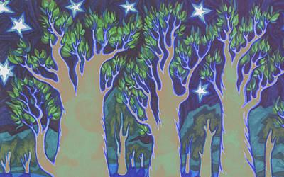 Mossy Print by James Davidson