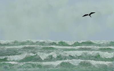 Motion And Flight Print by Tony Rodriguez