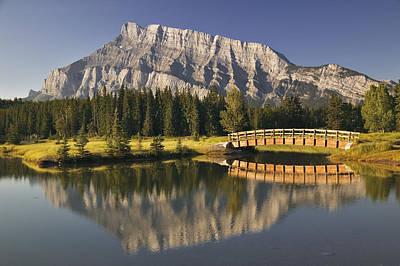 Mount Rundle And Cascade Ponds, Banff Print by Darwin Wiggett