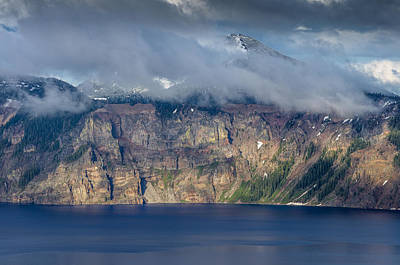 Mount Scott Cloud Shroud Print by Greg Nyquist