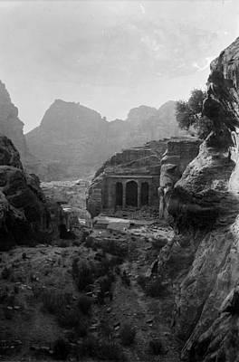 Mount Sinai, Trans-jordan. Petra Print by Everett