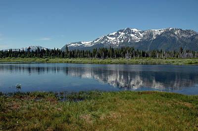 Mountains Photograph - Mount Tallac View Of The Cross by LeeAnn McLaneGoetz McLaneGoetzStudioLLCcom