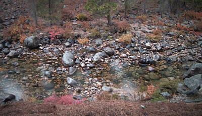 Sierra Nevada Photograph - Mountain River by Naxart Studio