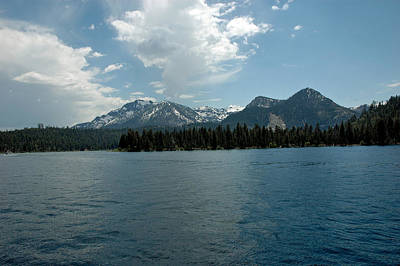 Nature Photograph - Mountains On The Lake by LeeAnn McLaneGoetz McLaneGoetzStudioLLCcom