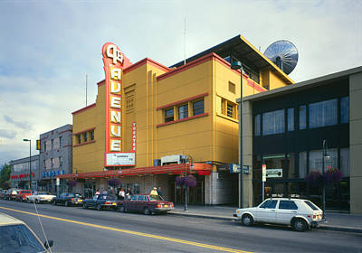 Movie Theaters, Fourth Avenue Theatre Print by Everett