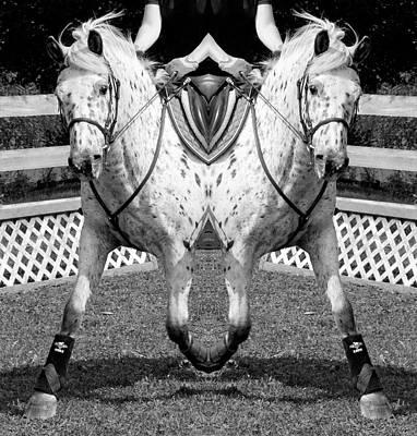 Horse Show Digital Art - Moving Forward by Betsy Knapp