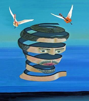 Mr Blue Sky Print by Eric Kempson