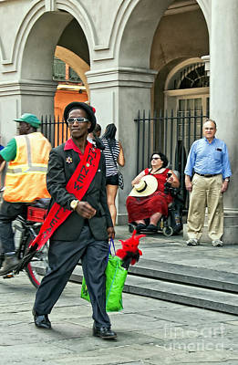 New Orleans Photograph - Mr. New Orleans by Kathleen K Parker