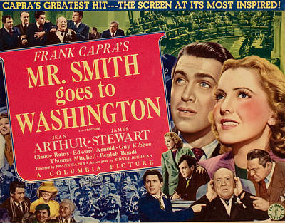 Posth Photograph - Mr. Smith Goes To Washington, James by Everett