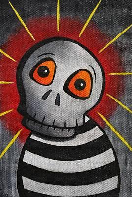 Mr.skullington Original by Landon Clary