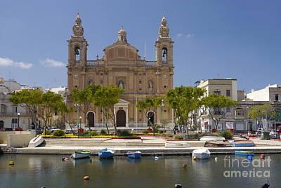 Msida Church Original by John Chatterley