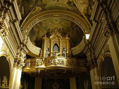 Msida Church Organ Original by John Chatterley