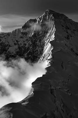 Mt. Foraker Ridge Print by Alasdair Turner